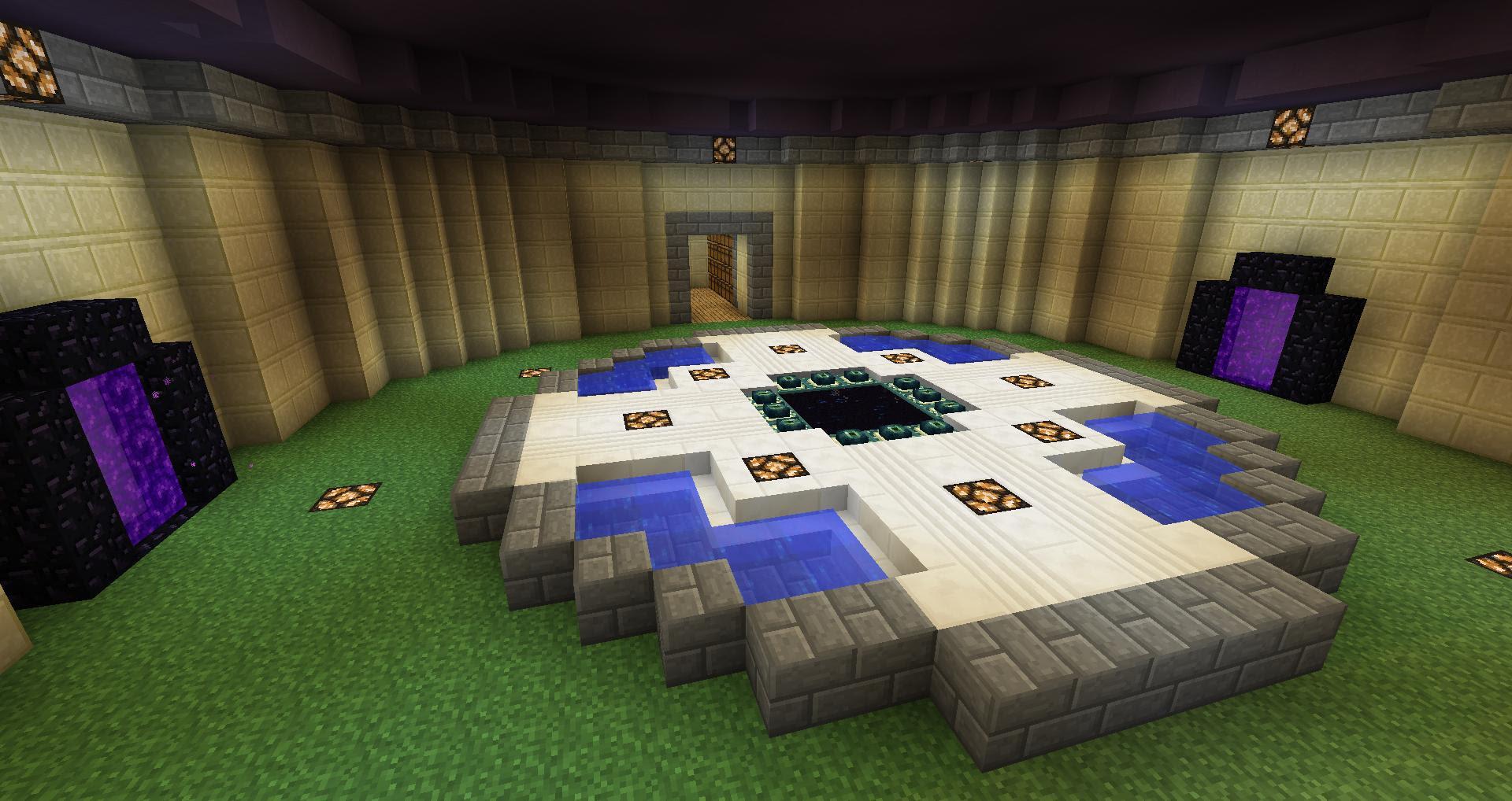 End Portal Room : Minecraft