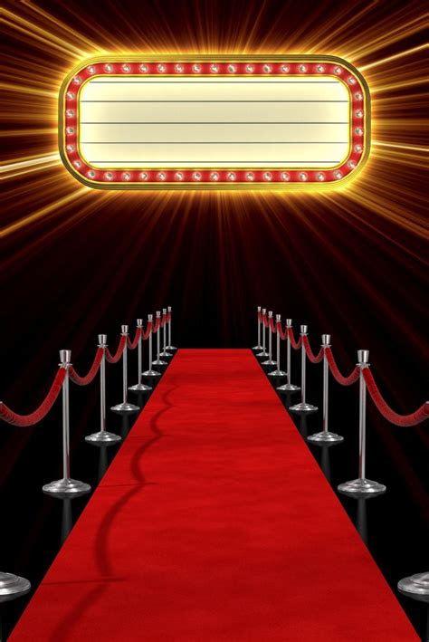 red carpet clipart broadway marquee pencil   color