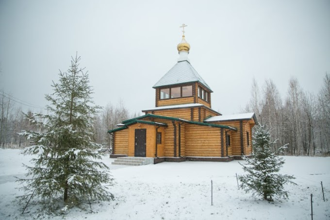 В Югре открылся первый мужской православный монастырь
