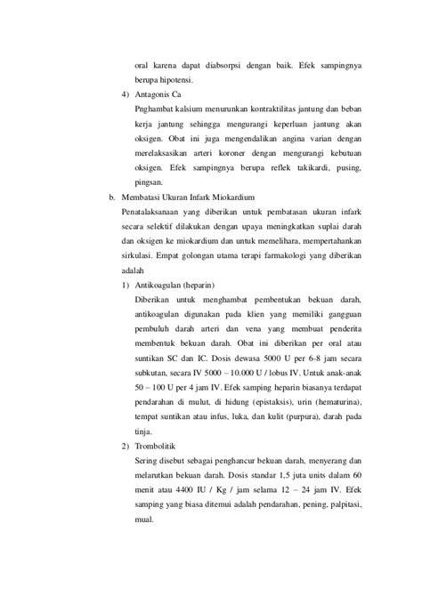 Asuhan Keperawatan IMA (Infark Miokardium Akut)