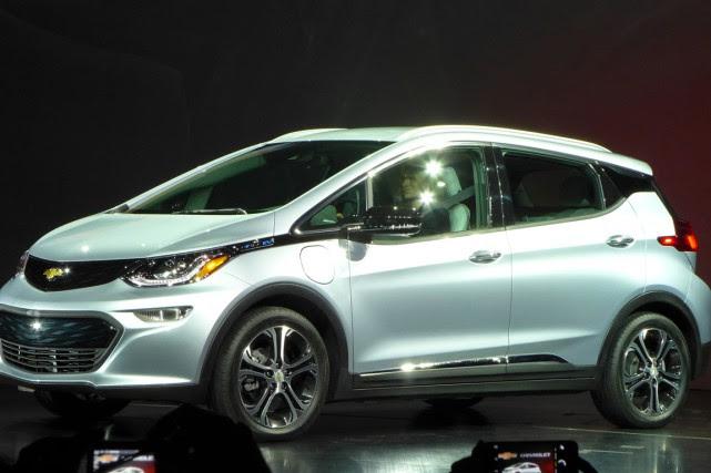 Le constructeur automobile américain General Motors (GM) a dévoilé mercredi la... (Photo AFP)