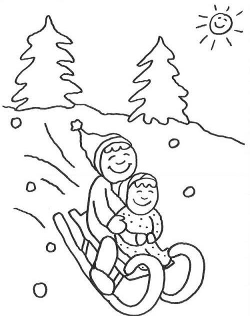 malvorlagen weihnachten schlitten  aglhk