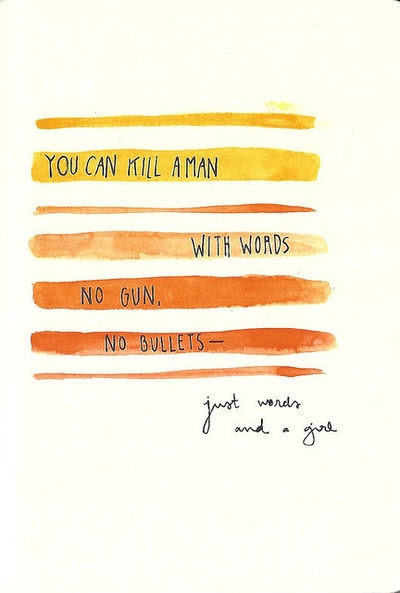 Words Can Kill Quotes
