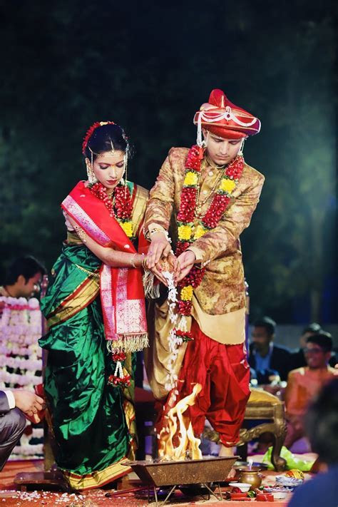 Vaidehi and Kunal?s Peshwai Themed Wedding! ? India's