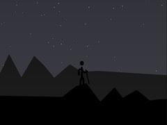 night hike in the very beginning
