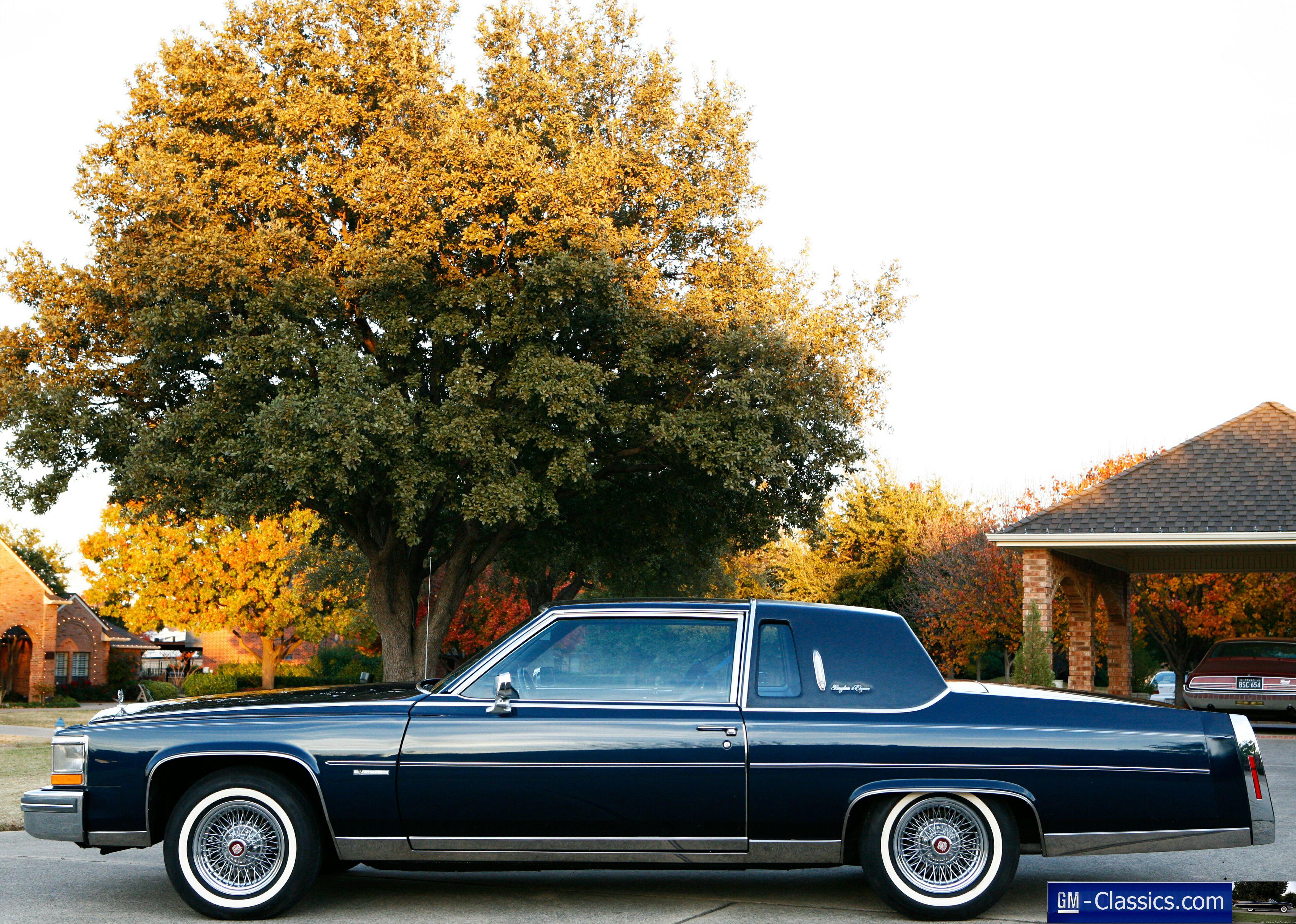 1981 Cadillac Fleetwood Brougham DeElegance - Matt Garrett