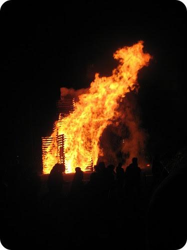 Dartmouth Bonfire 09