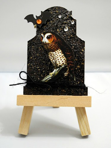 Brown Owl Tombstone ATC