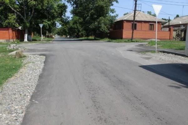 Улица Мира вМалгобеке Ингушетии пополнила список благоустроенных территорий