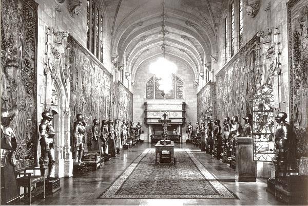 Tapices de la Catedral de Toledo en la galería de la Clarendon House, Riverside Drive, de Nueva York © The Library of Congress of The United States of America