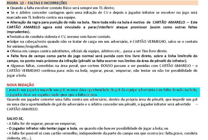 RN - nova regra arbitragem CBF ASA x ABC (Foto: Reprodução)