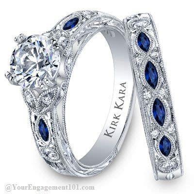 Kirk Kara   Engagement ring,Wedding Band,Matching Sets