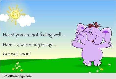 Warm Hugs. Free Get Well Soon eCards, Greeting Cards   123