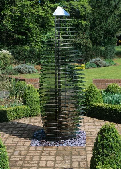 Modern Garden Sculpture - Contemporary Ether Sentinel. David Harber
