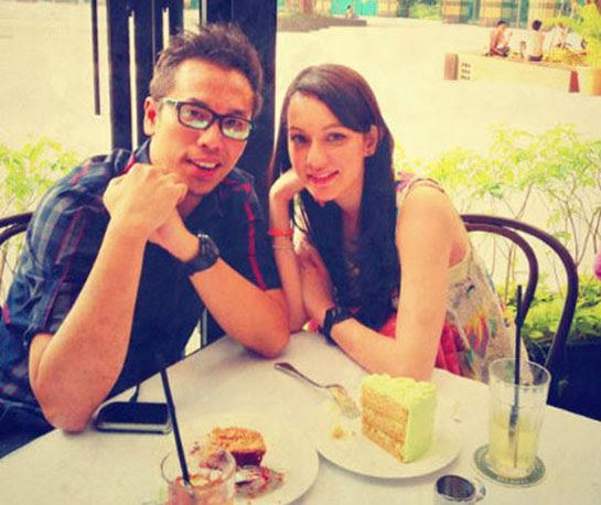 Sammy Simorangkir dan Nadia Annuar