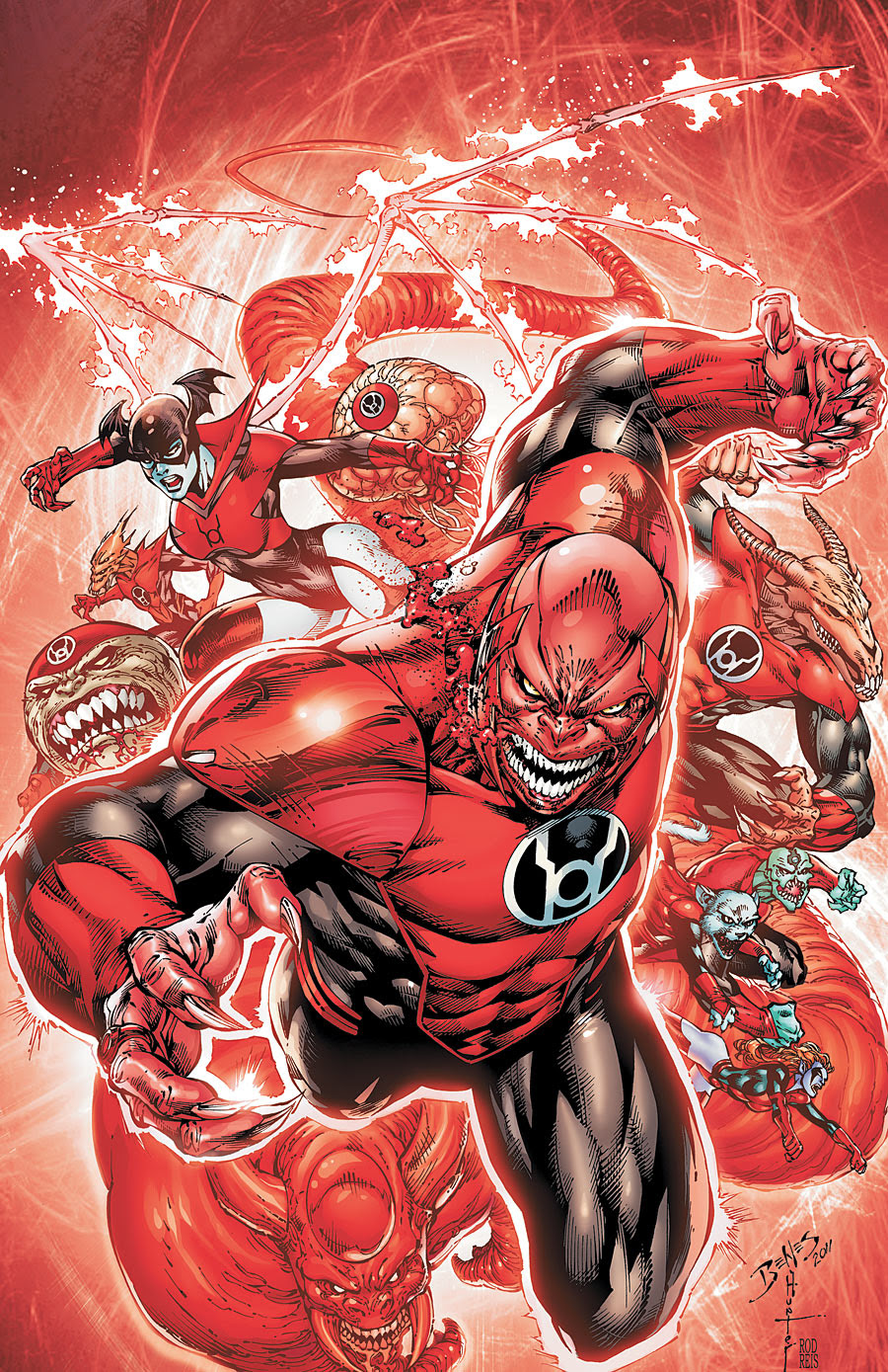 Image result for Rage of The Red Lanterns