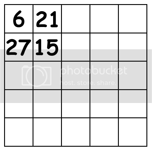 5 by 5 grid Puzzle 2