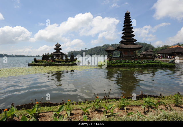 Bali Indonesia Ulu Danau Temple Stock Photos  Bali Indonesia Ulu Danau Temple Stock Images  Alamy