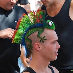 Gecko Haircut
