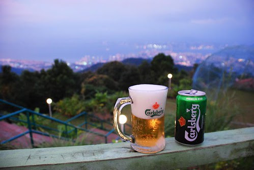 Carlsberg at Penang hill,  anyone?
