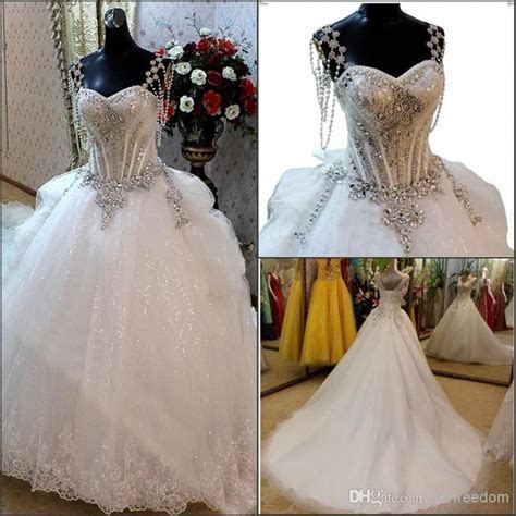 Wholesale A Line Wedding Dresses   Buy 2014 Newest Bling