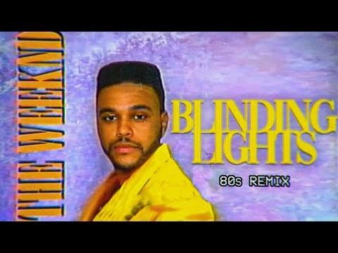 80s Remix: The Weeknd - Blinding Lights ( Official Video + Lyrics ) Rock Cover by Main-de-Gloire