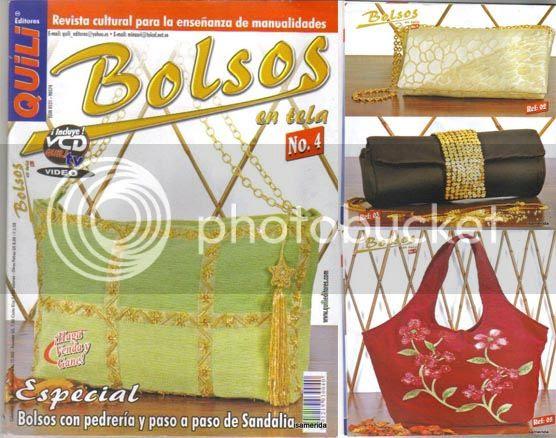confeccion bolsos y carteras tela
