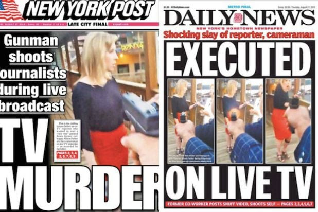 Why Outrageous WDBJ Shooting Covers on NY Post, Daily News Take ...