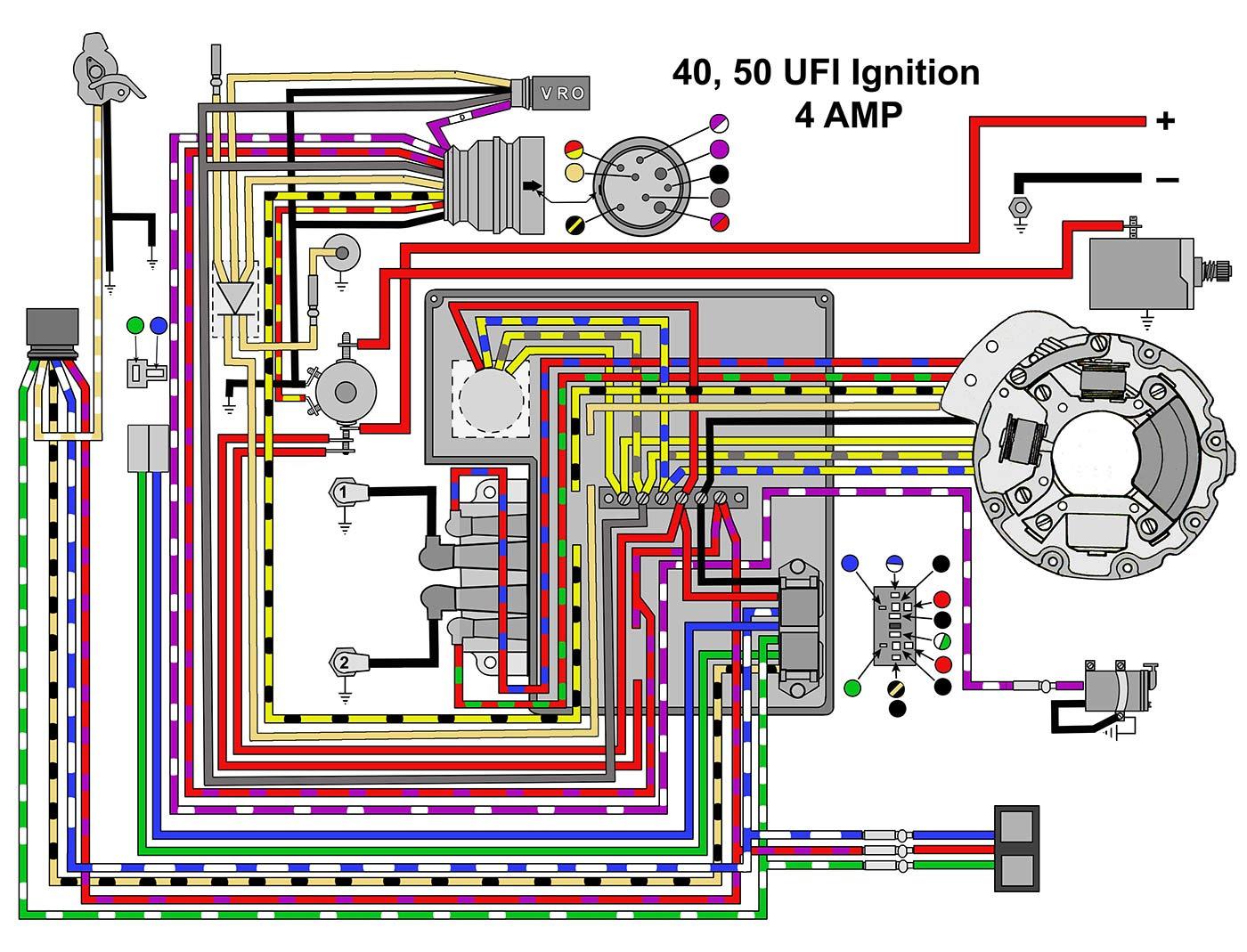 EVINRUDE JOHNSON Outboard Wiring Diagrams -- MASTERTECH ...
