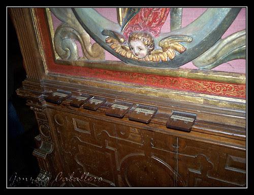 Organo de Salinas - Catedral Vieja de Salamanca - Correderas