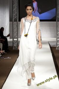 Latest Party Wears Dresses By Rizwana At PFW UK 2011 1 style.pk