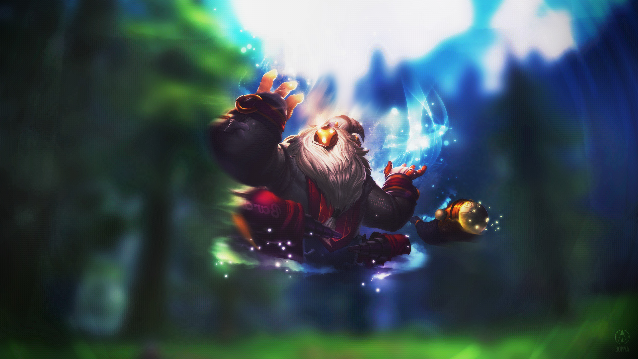 League Of Legends Support Bard Wallpapers Hd Desktop And
