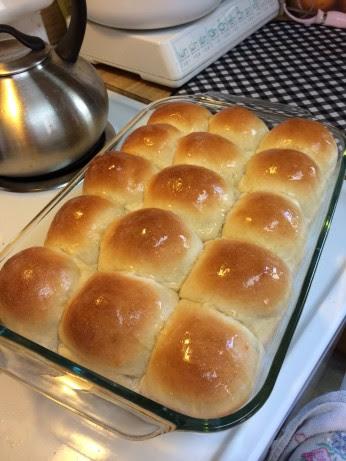 Country White Bread Or Dinner Rolls Bread Machine) Recipe ...