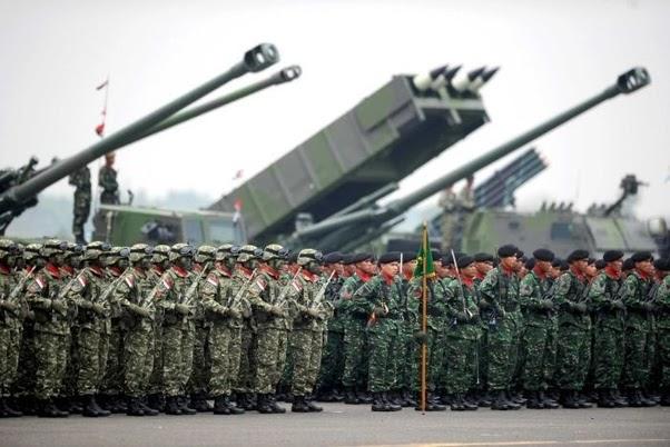 Masuk 20 Besar Dunia 2021, Militer Indonesia Tetap Terkuat ...