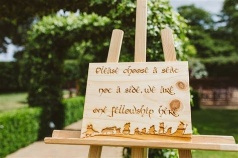 The Lord of The Rings Wedding in Hertfordshire at Tewin