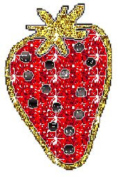 pictures animations strawberry myspace cliparts