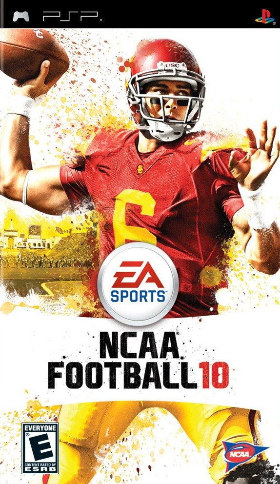 Carátula de NCAA Football 10