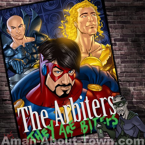 The Arbiters - CD Cover (Front)