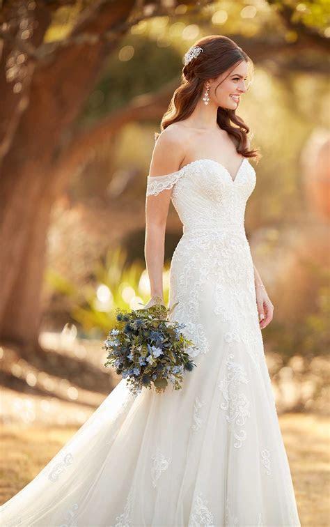 Formal A Line Wedding Dress   Essense of Australia