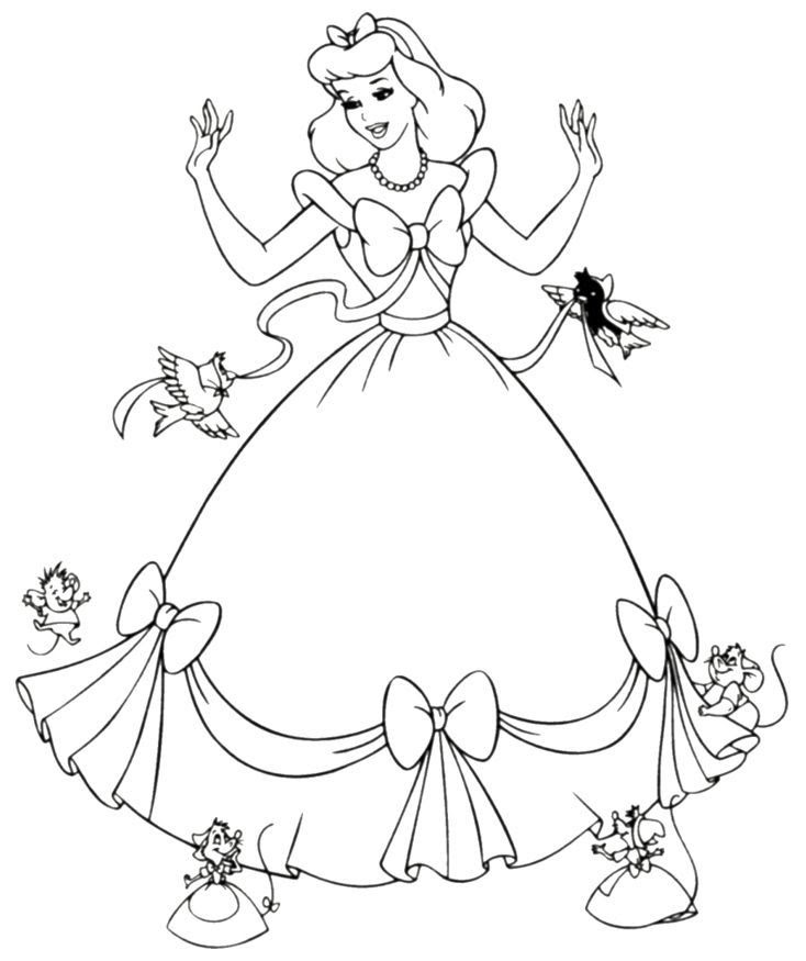 60 Princess Colouring Book Printable Best HD