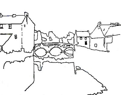 Ink Drawing of Clonmel