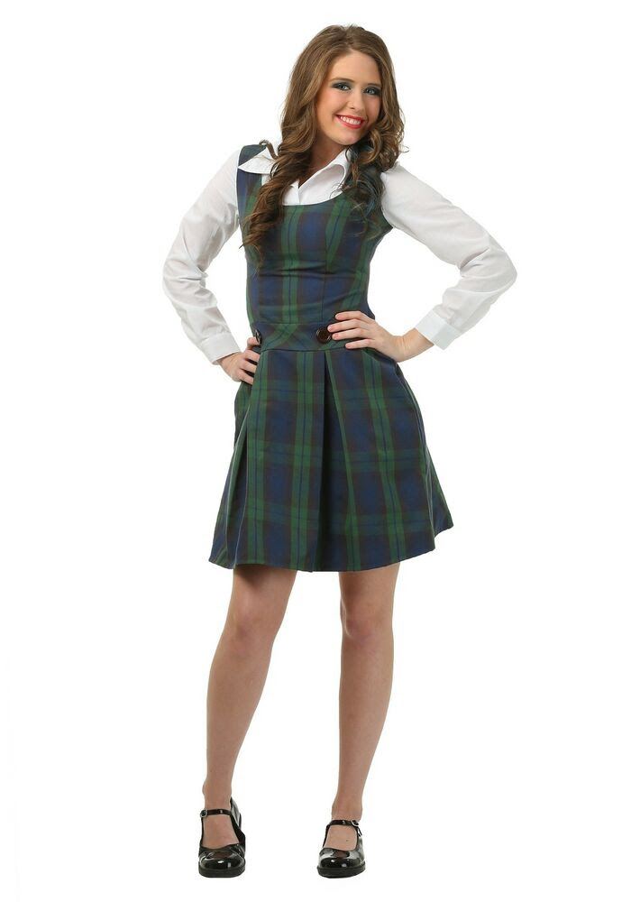 adult school girl plus size costume  ebay