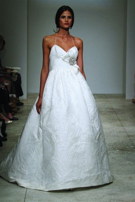 Amsale Cagney Wedding Dress on Sale 50% Off