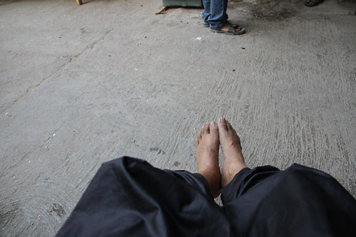Today Was A Hectic Day....A Body Held On Feet Of Clay by firoze shakir photographerno1
