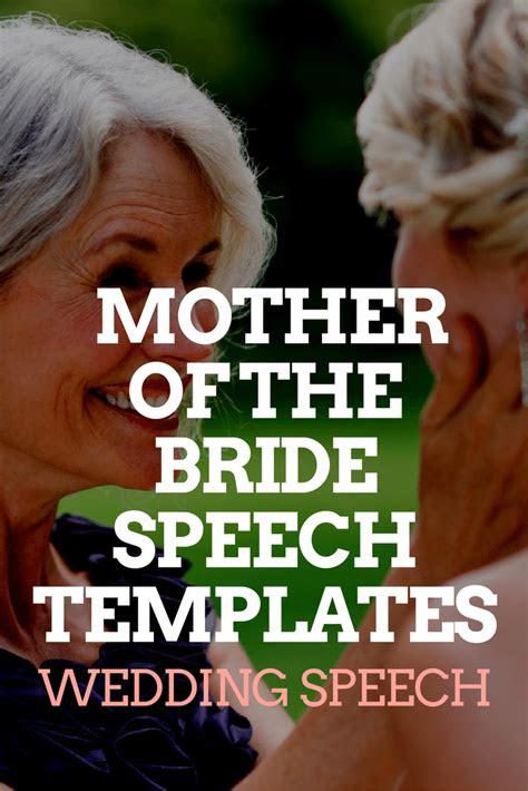 mother   bride speech templates wedding speeches