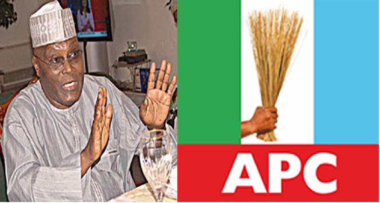 Image result for apc vs atiku