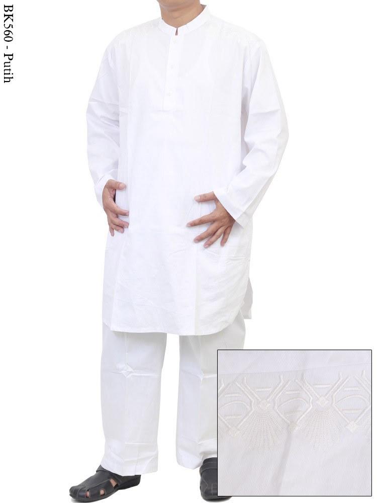 Baju muslim gamis pria murah gamis murni Baju gamis putih murah