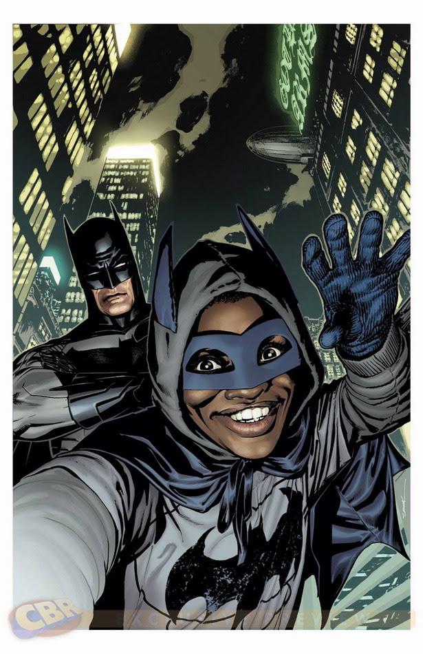 Selfie Batman y Batkid