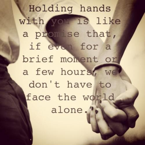 Quotes About Friendship Holding Hands 15 Quotes