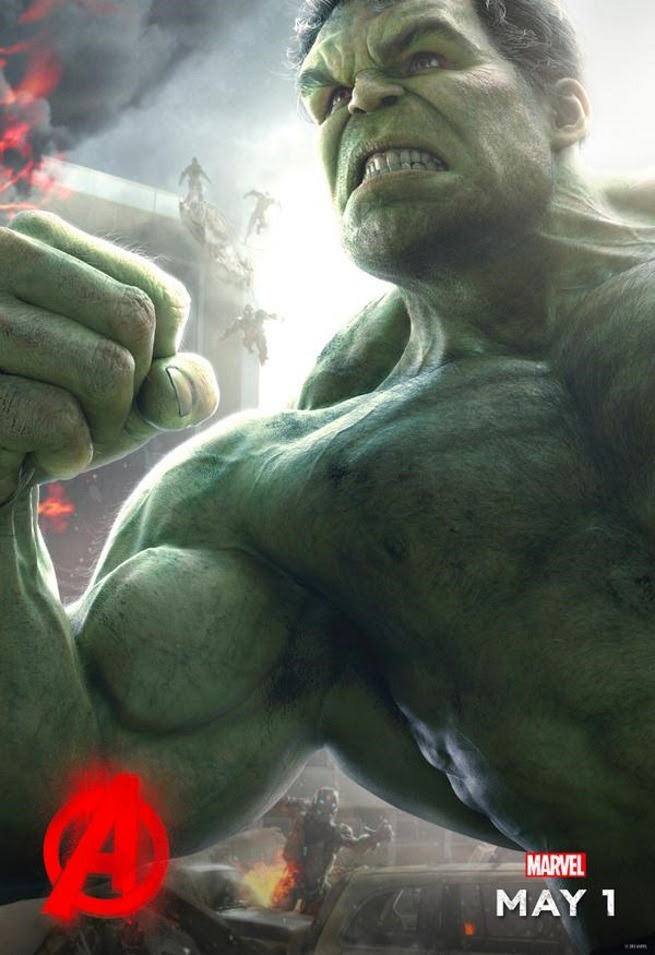 Age Of Ultron - Hulk poster